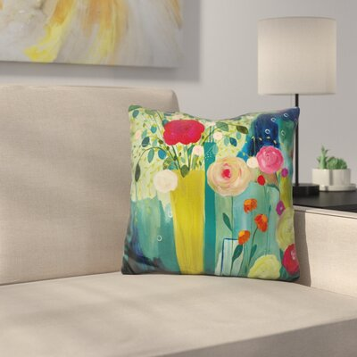 Surround Yourself with Beauty Throw Pillow