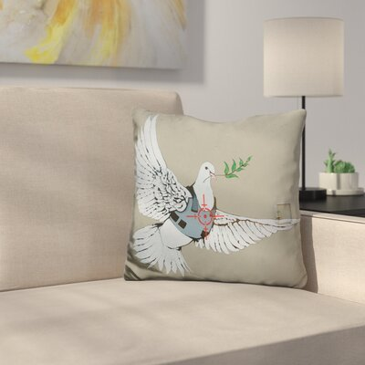 Armour Peace Dove Throw Pillow