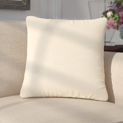 Mckayla Stain Resistant Down Filled Throw Pillow Color: Powder