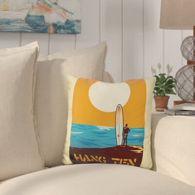 Burney Hang Time Throw Pillow
