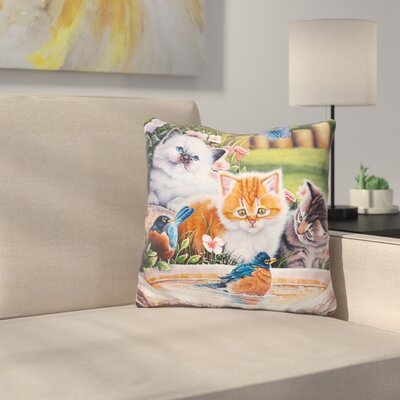 Splashing Up Some Fun Throw Pillow