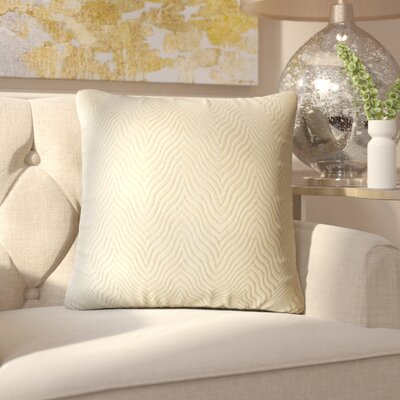 Anie Solid Down Filled Throw Pillow Size: 20 x 20, Color: Sand