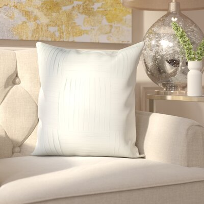 Holden 100% Cotton Throw Pillow Cover Size: 22 H x 22 W x 0.25 D, Color: Green
