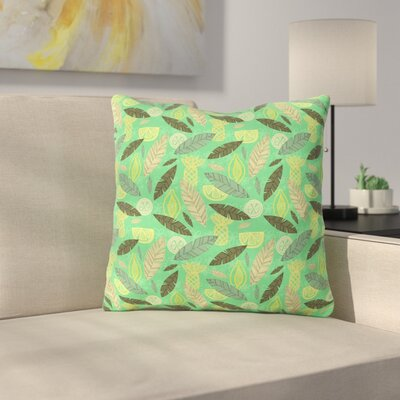 Tropical Fruits by Jane Smith Throw Pillow Size: 16 H x 16 W