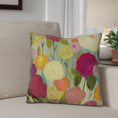 Gillard Secret Garden Throw Pillow