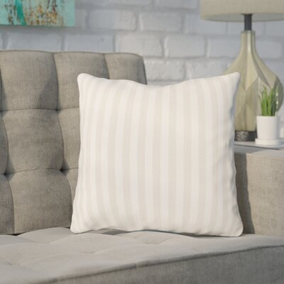 Mosquera Indoor/Outdoor Throw Pillow Size: 20 H x 20 W x 4 D, Color: Ivory