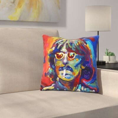George Harrison Glasses Throw Pillow