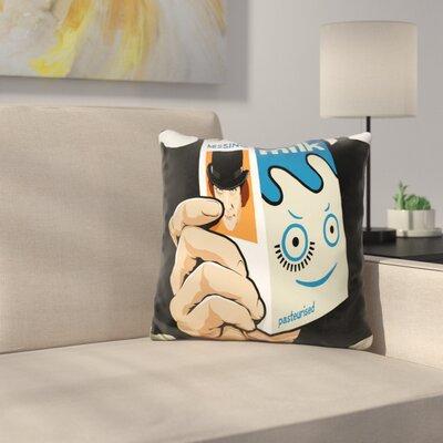 Milk and TV Easily Throw Pillow