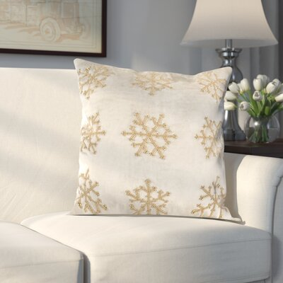 Kavanaugh Throw Pillow Color: Beige & Silver, Size: 12 H x 20 W x 3 D