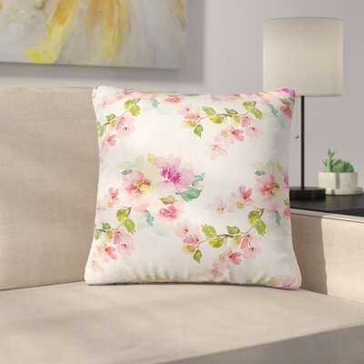 Modern Blossom Pillow Cover Size: 24 x 24