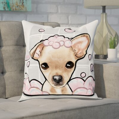 Faria Bubbly Personality Chihuahua Throw Pillow