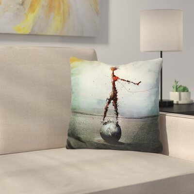 Gryb Blood Throw Pillow