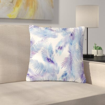 Draper Tropic Breeze Digital Outdoor Throw Pillow Size: 18 H x 18 W x 5 D, Color: Blue