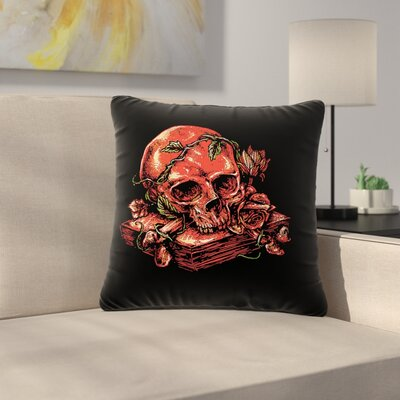 BarmalisiRTB History Fantasy Nature Outdoor Throw Pillow Size: 18 H x 18 W x 5 D