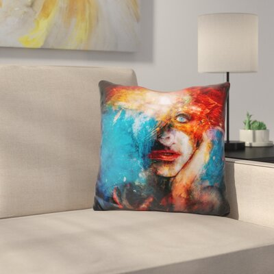 Dethroned Throw Pillow