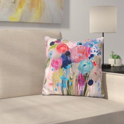 Fresh Bouquet Throw Pillow