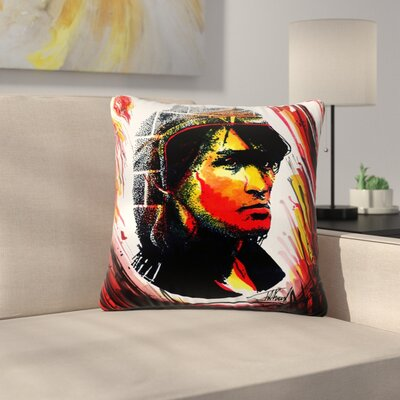 Ivan Joh Tsoi Is Alive People Outdoor Throw Pillow Size: 18 H x 18 W x 5 D