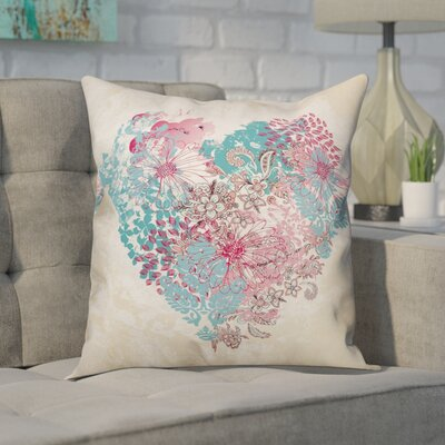 Ferretti Heart of Patterns Throw Pillow