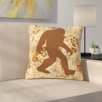 Alias Bigfoot Outdoor Throw Pillow Size: 18