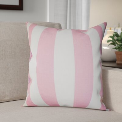 Knotts Outdoor 100% Cotton Throw Pillow Color: Baby Pink, Size: 20 H x 20 W
