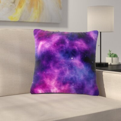 Infinity Fantasy Outdoor Throw Pillow Size: 16 H x 16 W x 5 D