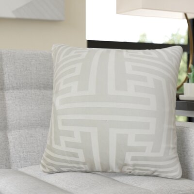 Randy Geometric Cotton Throw Pillow