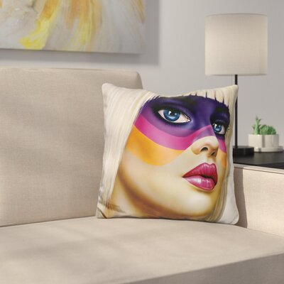 Paint My Dreams Throw Pillow