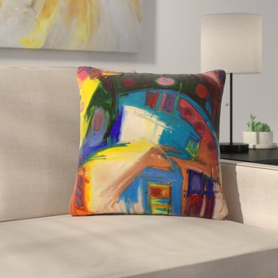 Jeff Ferst New York Chic Outdoor Throw Pillow Size: 18 H x 18 W x 5 D