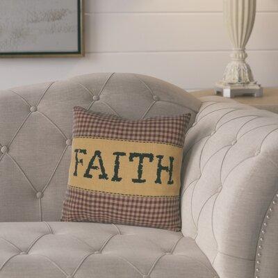 Erekson Faith 100% Cotton Throw Pillow