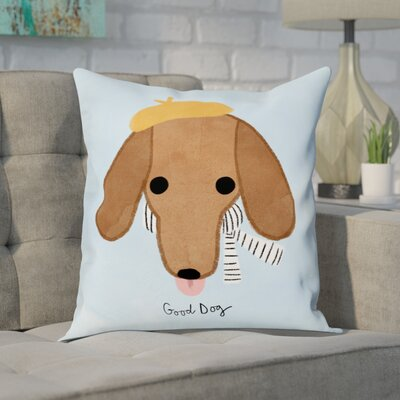 Dunsmore Good Dachshund Throw Pillow