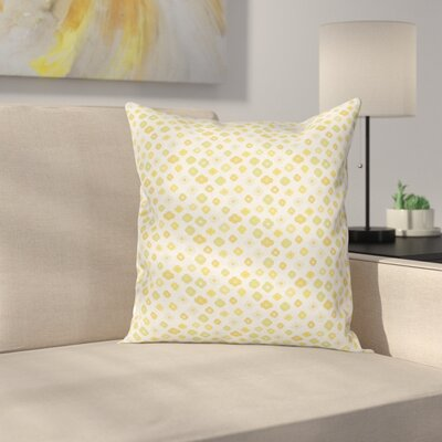 Daisies Cushion Pillow Cover Size: 18 x 18