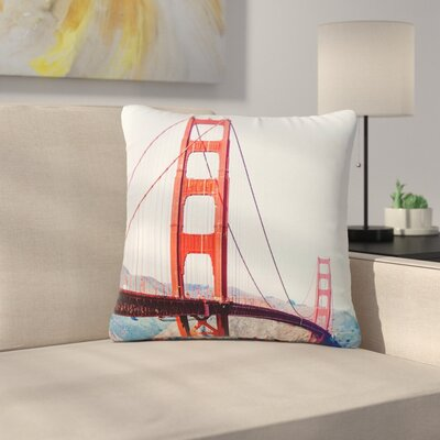 The Golden Great Outdoor Throw Pillow Size: 16 H x 16 W x 5 D