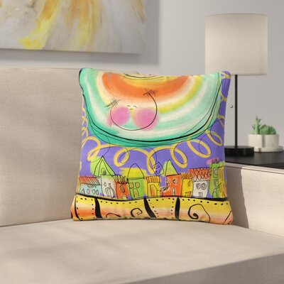 Carina Povarchik Sun Outdoor Throw Pillow Size: 18 H x 18 W x 5 D