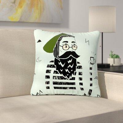 Anya Volk Dreamer 2 Digital Outdoor Throw Pillow Size: 16 H x 16 W x 5 D