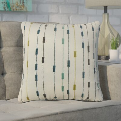 Fabre Stripes Cotton Throw Pillow