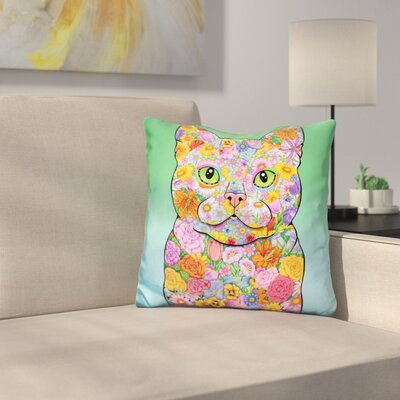 American Shorthair Throw Pillow