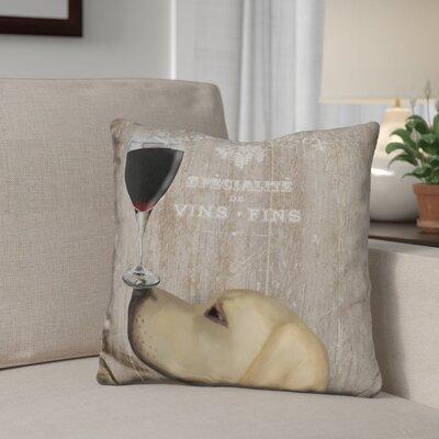 Gassaway Au Vin Labrador Throw Pillow