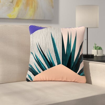 Cafelab Summer Geometry Outdoor Throw Pillow Size: 16 H x 16 W x 5 D