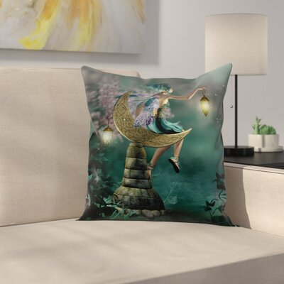 Modern Fantasy Pillow Cover Size: 18 x 18