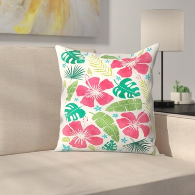 Tracie Andrews Kalia Throw Pillow Size: 18 x 18