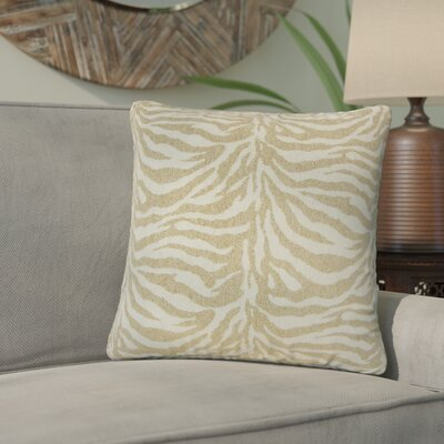 Port Laguerre Animal Print Throw Pillow Color: Tan