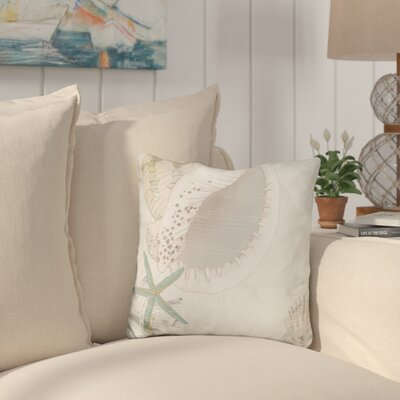Burritt Golden Reef Panel Throw Pillow