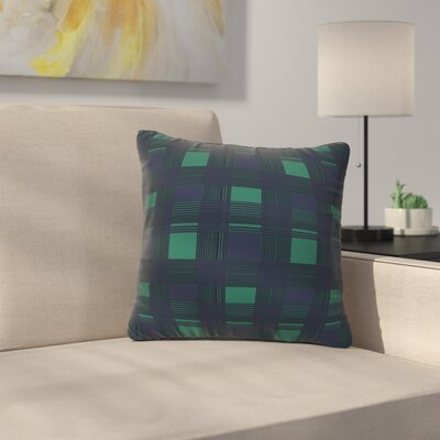 Gabriela Fuente Winter Midnight Throw Pillow Size: 20 x 20