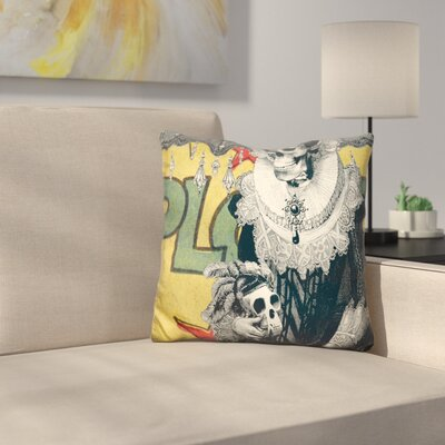 Lady Cushion Throw Pillow