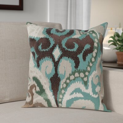 Claysburg Throw Pillow Cover Size: 18 H x 18 W x 1 D, Color: GreenBrown