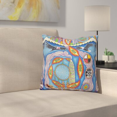 The Prophecy of the 8th Fire Throw Pillow