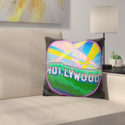 Hollywood Circle Throw Pillow