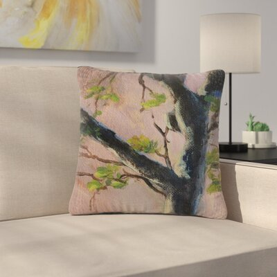 Cyndi Steen Aussie Tree Nature Outdoor Throw Pillow Size: 18 H x 18 W x 5 D