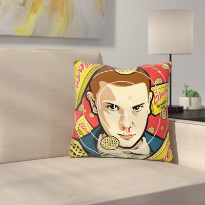 Waffles Throw Pillow