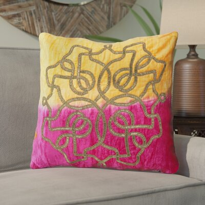 Belafonte Damask 100% Cotton Throw Pillow